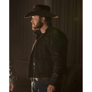Rip Wheeler Yellowstone Season 4 Leather Jacket
