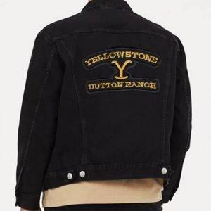 Yellowstone Denim Black Jacket