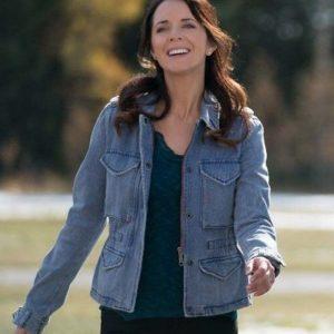 Lou Fleming TV Series Heartland Michelle Morgan Blue Denim Jacket