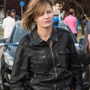 The Plagues of Breslau Małgorzata Kożuchowska Leather Jacket