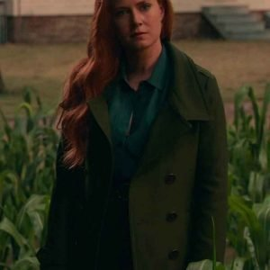 Amy-Adams-Justice-League-Lois-Lane-Green-Trench-Coat