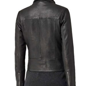Agents of Shield Ming-Na Wen Biker Leather Jacket
