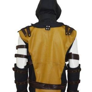 Mortal Kombat 10 Scorpion Hooded Jacket