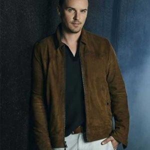 TV Series Nancy Drew Riley Smith Brown Suede Leather Jacket