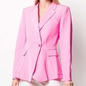 Cheryl Blossom TV Series Riverdale Season 05 Madelaine Petsch Pink Blazer