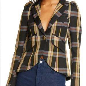 Toni Topaz Riverdale Season 05 Vanessa Morgan Plaid Blazer