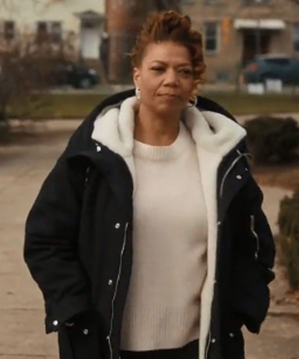 Queen Latifah The Equalizer Ep04 Robyn McCall Black Shearling Coat