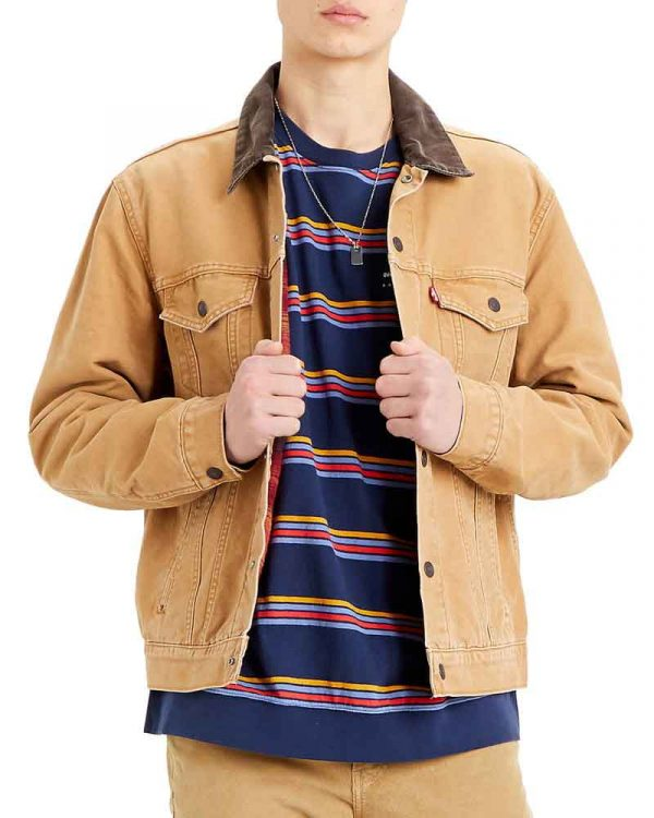Superman-and-Lois-Clark-Kent-Trucker-Jacket