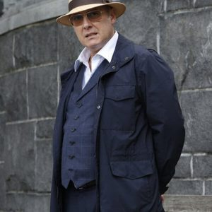Raymond Reddington TV Series The Blacklist James Spader Blue Cotton Jacket