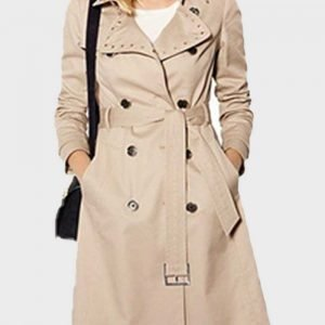 Linsey Godfrey TV Series The Bold and the Beautiful Caroline Spencer Trench Coat