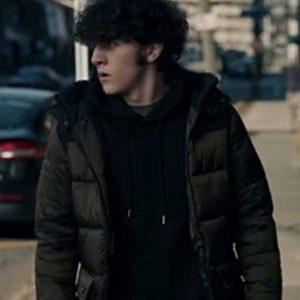 Blake TV Series The Equalizer (2021) Daniel Siani Puffer Jacket with Hood