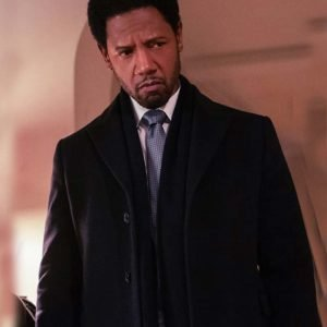 Detective Marcus Dante The Equalizer Tory Kittles Black Trench Coat