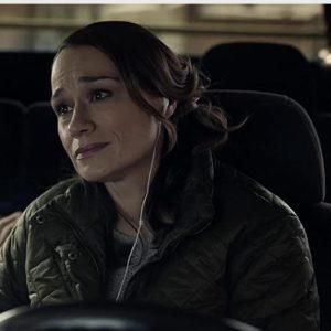 Leslie Aldridge TV Series The Equalizer (2021) Lianne Marie Dobbs Green Quilted Jacket