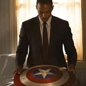 Anthony Mackie The Falcon and the Winter Soldier 2021 Sam Wilson Black Blazer