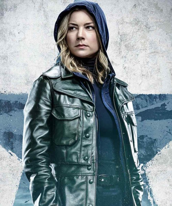 Sharon Carter The Falcon and the Winter Soldier Emily VanCamp Leather Jacket