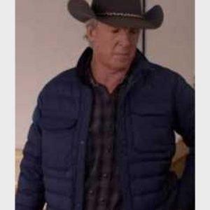 Chris Potter TV Series Heartland Tim Fleming Purple Puffer Jacket