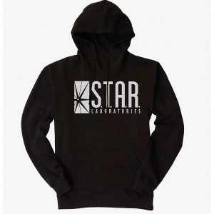 Mens and Womens S.T.A.R Laboratories Pullover Hoodie