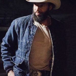 Colby TV Series Yellowstone Denim Richards Cotton Jacket