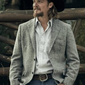 Luke Grimes TV Series Yellowstone S03 Kayce Dutton Blazer