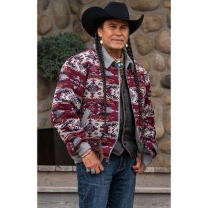 Moses Brings Plenty TV Series Yellowstone S04 Jacket