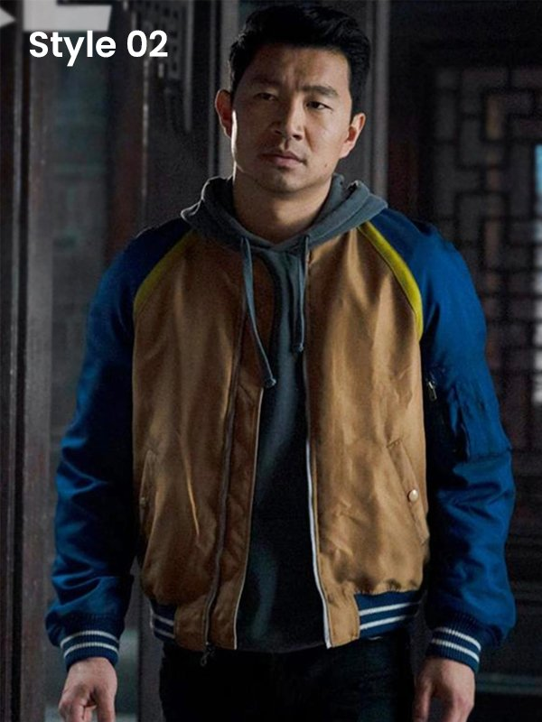 Shang-Chi Bomber Jacket Front