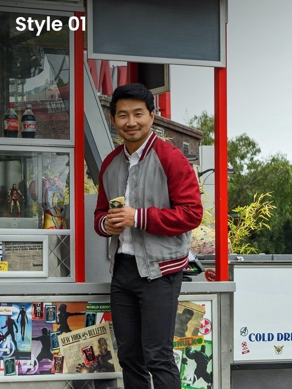 Shang-Chi Bomber Jacket Red