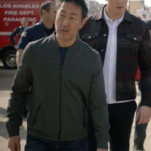 Kenneth Choi TV Series 9-1-1 Howie Han Bomber Jacket