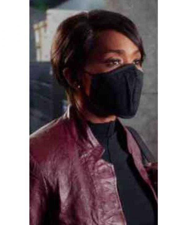 9-1-1 Athena Grant Leather Jacket