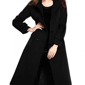 Batwoman S02 Sophie Moore Black Double-breasted Coat