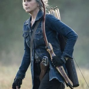 The Walking Dead Season 10 Carol Peletier Blue Denim Jacket