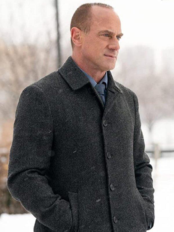 Elliot Stabler Wool Coat