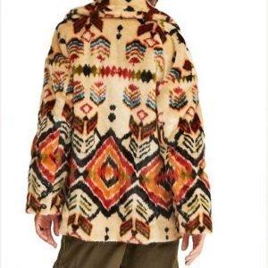 Wynonna Earp S04 Waverly Earp Fur Coat