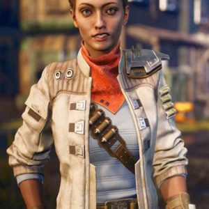 Ellie Leather Jacket The Outer Worlds Jacket