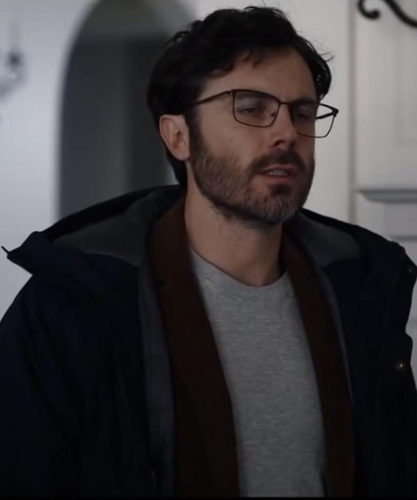 Dr. Clark Every Breath You Take 2021 Casey Affleck Black Hooded Jacket