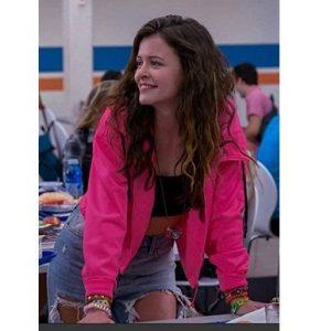 Sara Waisglass Ginny & Georgia Pink Jacket with Hood