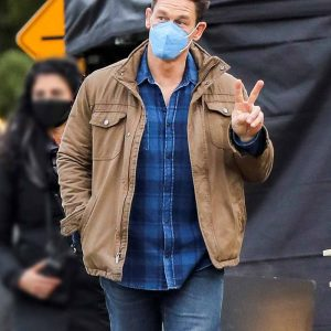 TV Series Peacemaker 2022 John Cena Brown Cotton Jacket