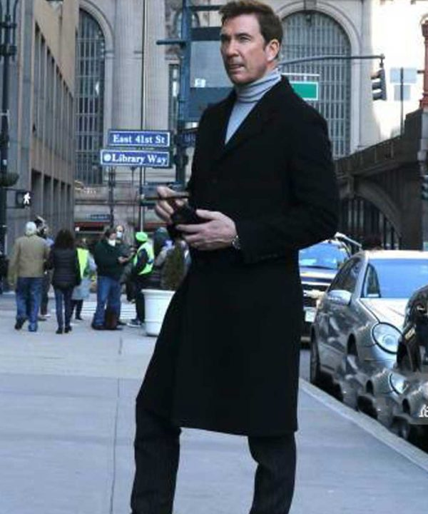 Dylan McDermott Tv Series Law & Order: Organized Crime 2021 Richard Wheatley Coat