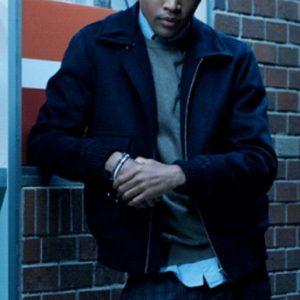 Legacies S03 Quincy Fouse Black Bomber Jacket
