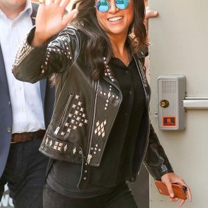 Letty Ortiz F9 Leather Studded Jacket