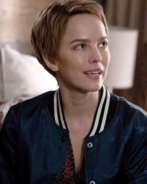 Maggie Bloom A Million Little Things Allison Miller Blue Bomber Jacket