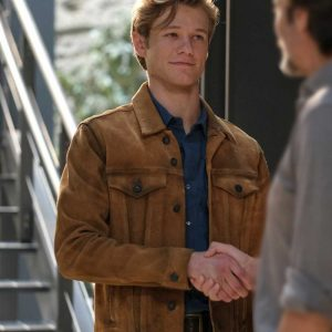 Lucas Till MacGyver S05 Angus MacGyver Brown Cotton Jacket