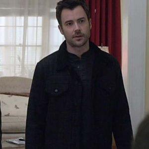 Manifest S03 Zeke Landon Black Jacket
