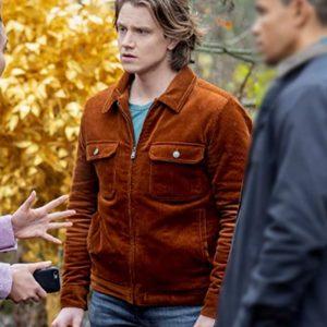 TV Series Nancy Drew Alex Saxon Ace Brown Velvet Jacket