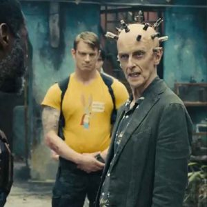 Peter Capaldi TV Series The Suicide Squad Thinker Blazer Jacket