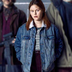 Mathilde Blue Denim Riders of Justice 2021 Andrea Heick Gadeberg Jacket