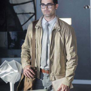 Tyler Hoechlin TV Series Supergirl Clark Kent Cotton Jacket