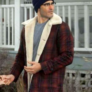 Superman and Lois Red Plaid Jacket