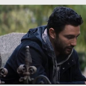Noah Mills The Falcon and The Winter Soldier Nico Black Cotton Jacket