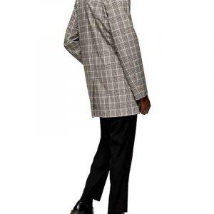 Brand McKnight TV Series The Flash Season 07 Chester P. Runk Grey Check Coat