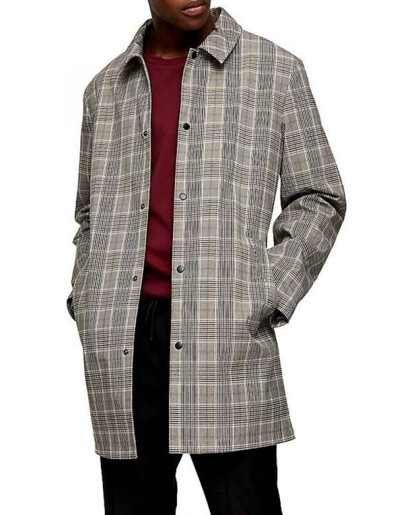 The Flash S07 Chester P. Runk Checkered Coat